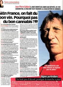 Jean Pierre Galland dans les médias