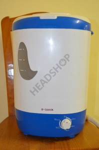 Le Bubblator avec son indicateur de niveau d'eau et le temporisateur