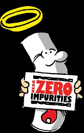 """Utilisez du gaz """"near zero impurities"""""""