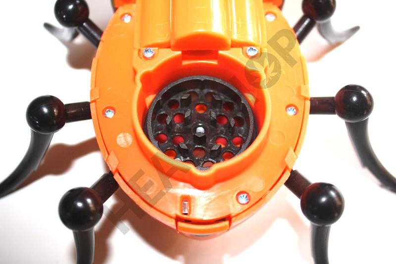 L'intérieur du hacheur du Bud Bug