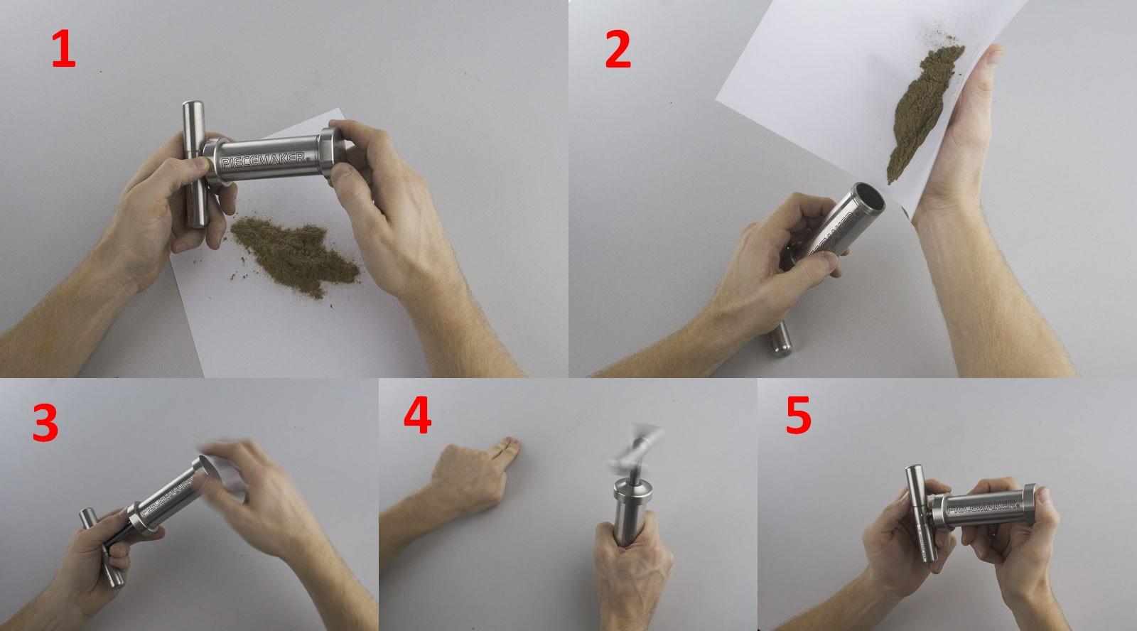 Le Piecemaker est très facile à utiliser.