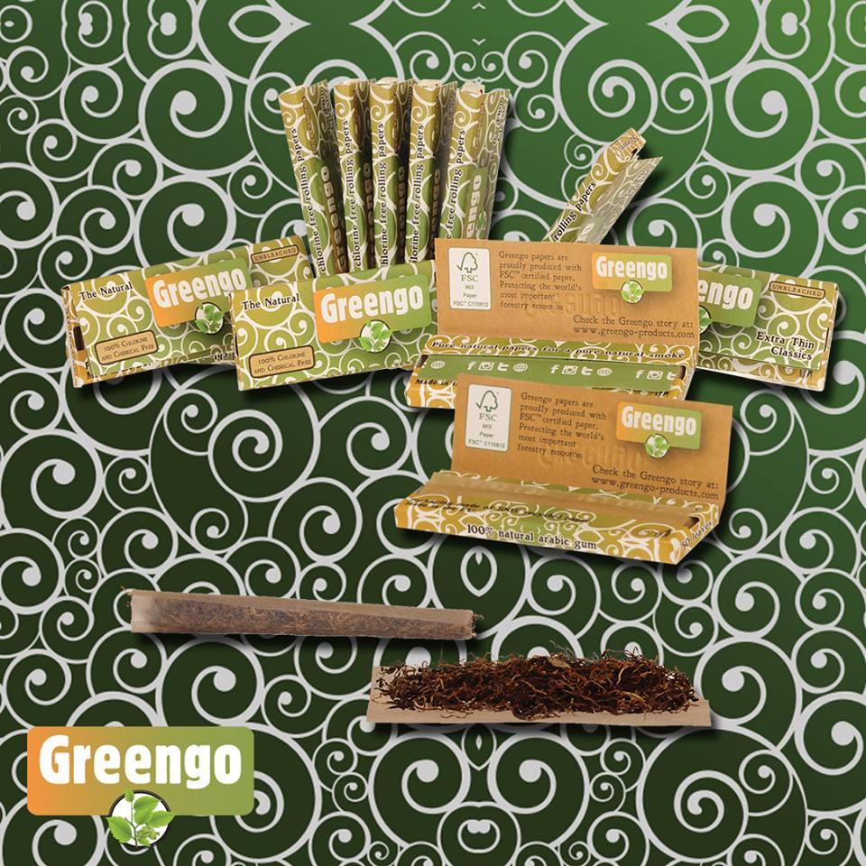Différentes feuilles à rouler Greengo