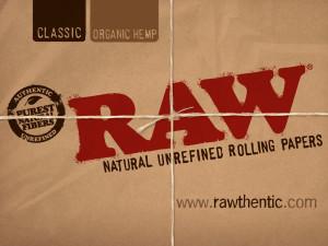 Raw, papier non blanchi de qualité supérieur