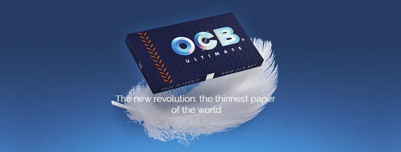 Le nouveau papier à rouleur OCB Ultimate est le plus fin du monde