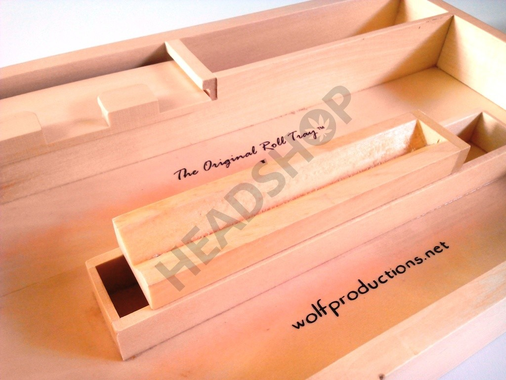 Organisation de la boite Roll Tray J2