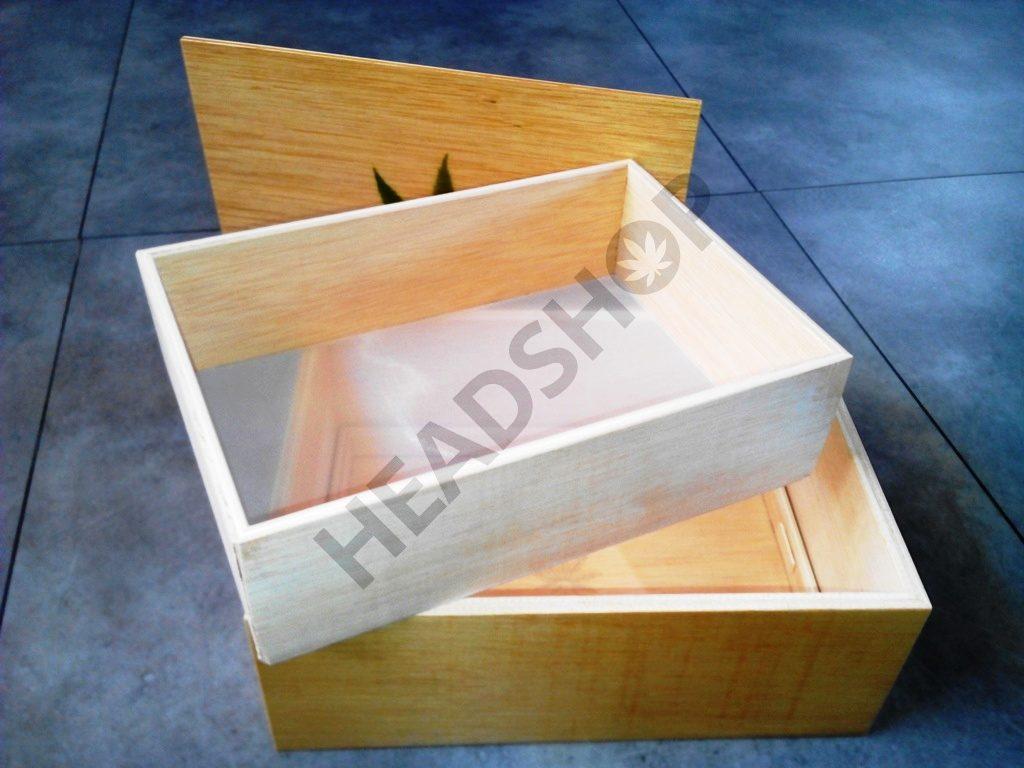 Jaizkibel, une boite pour les extractions de résine