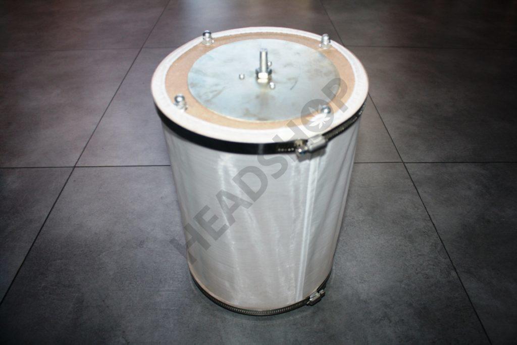 Tambour propre et prêt pour une nouvelle utilisation