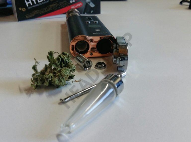 Composants du Flowermate Hybrid X pour la vaporisation du cannabis